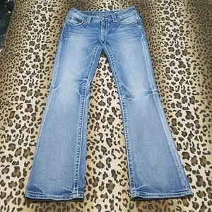 Simplistic and stylish boot cut jeans
